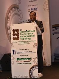 9th International Conference on Industrial Tribology, 2017